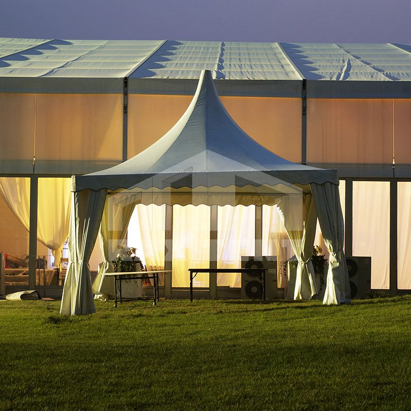 best 3x3 4x4 5x5 6x6m aluminum pvc gazebo pinnacle pagoda tent for sale. Black Bedroom Furniture Sets. Home Design Ideas